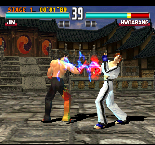 Game Tekken 3 di ePSXe
