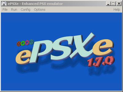 Tampilan awal ePSXe