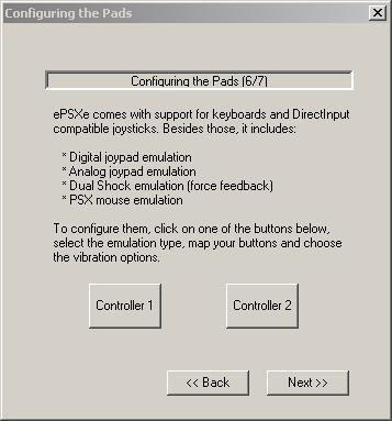 Pilih untuk konfigurasi controller