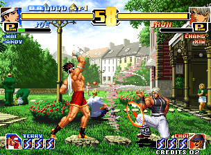 Game King of Fighter 99 di ePSXe