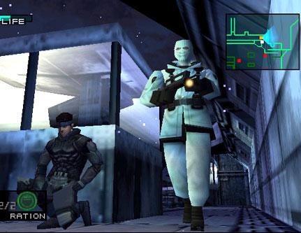 Game Metal Gear Solid di ePSXe