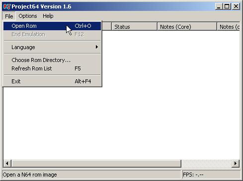 Cari ROM 64 yang sudah didownload